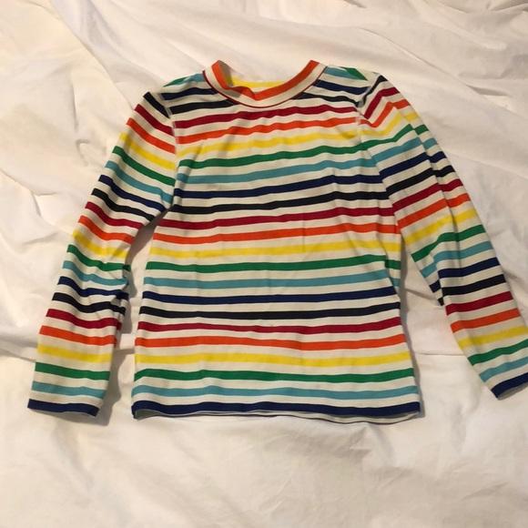 Rainbow striped rash guard by Primary